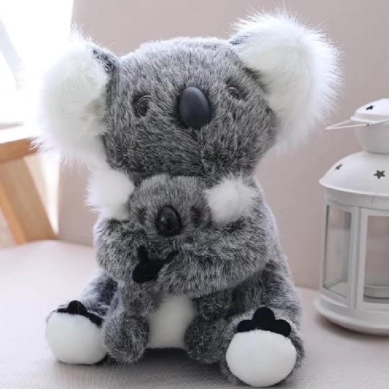 13 centímetros 17 centímetros 21 centímetros 28 centímetros Austrália animal Koala Stuffed Koala Urso Macio Mom manter alta qualidade Plush Doll Kid presente Xmas Toy