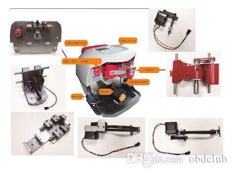 Peças do sensor e do Tranmission do cortador XYZ do eixo do motor dos acessórios da máquina de V8 / X6 para a máquina de corte da chave de V8