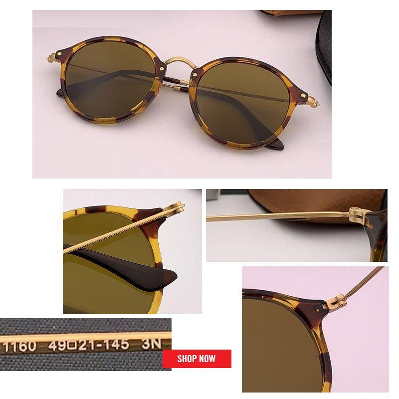 خمر جديد جولة إطار نظارات شمسية نسائية المعادن البخار فاسق الرجعية الرجال دائرة UV400 مرآة نظارات شمسية 2447 أنثى نظارات gafas refletive