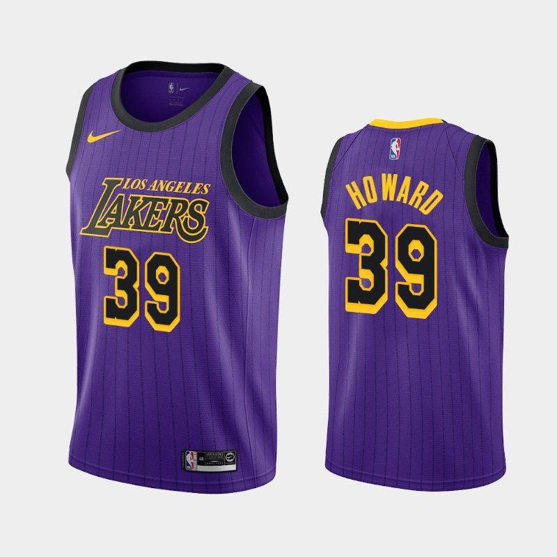 2021 Mens Los AngelesLakers Dwight Howard #39 Basketball ...