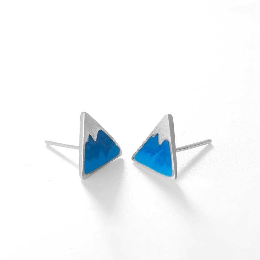 Geometric Triangle Earrings for Women and Girls Apply to Party and Casual
