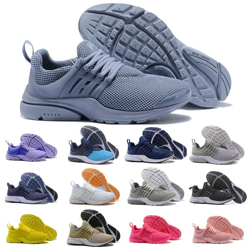 Sell 2020 New Presto 5 Men Women Run Shoes Air Cushion Prestos Ultra BR QS Tp Yellow Pink Black Oreo Sports Fashion Fly Jogging Sneakers