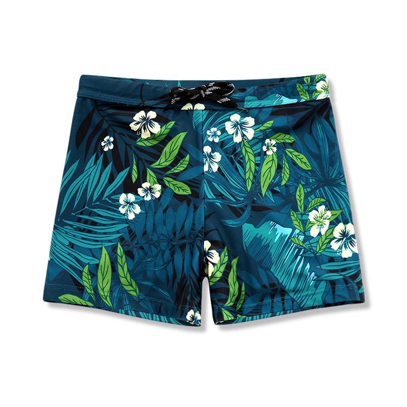 swimwear men swimming shorts fashion color swim wear mens boxers beach trunks fast dry slim 4XL