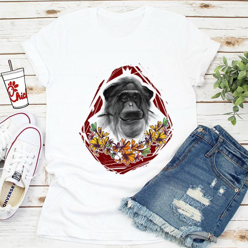 Monkey King Cool New Arrival T-Shirt Women Tshirt Funny Print Tshirt Fashion T-Shirt Summer Short Sleeve Tshirts