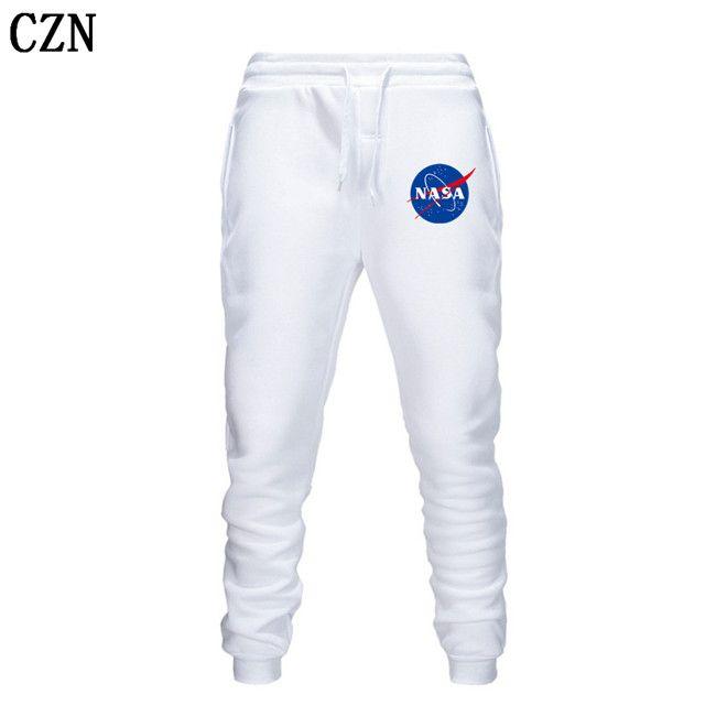 Fitness Sendero Harem NASA diseñador de los hombres Fitness Deportivo pantalones elásticos de algodón de los hombres Cuerpo Ingenieros del basculador al aire libre EL-1