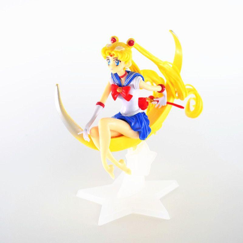 Phenomenal 2020 Anime Sailor Moon Birthday Cake Decoration Large 15Cm Moon Personalised Birthday Cards Paralily Jamesorg
