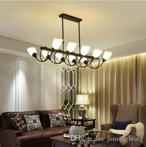 Northern Europe Ceiling Lights Vintage Lamps For Living Room Ceiling Light Wrought Iron Home Lighting Fixtures E27