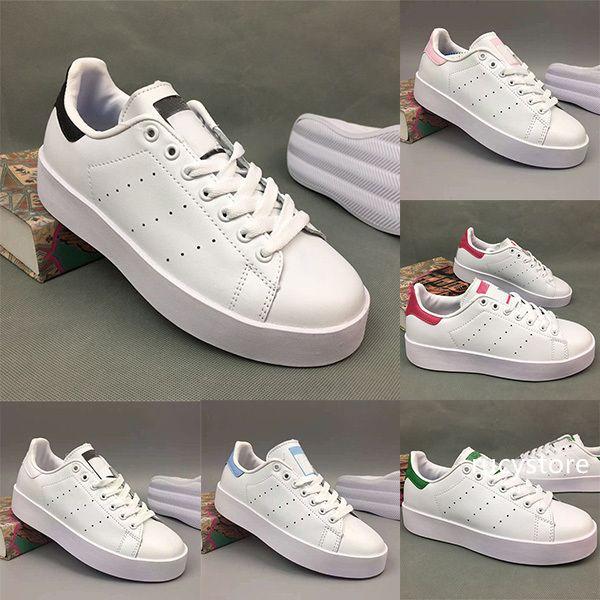 Chaussures de marque Smith Top femmes de qualité des hommes nouvelles chaussures stan baskets mode cuir sport casual chaussures de course Sans es