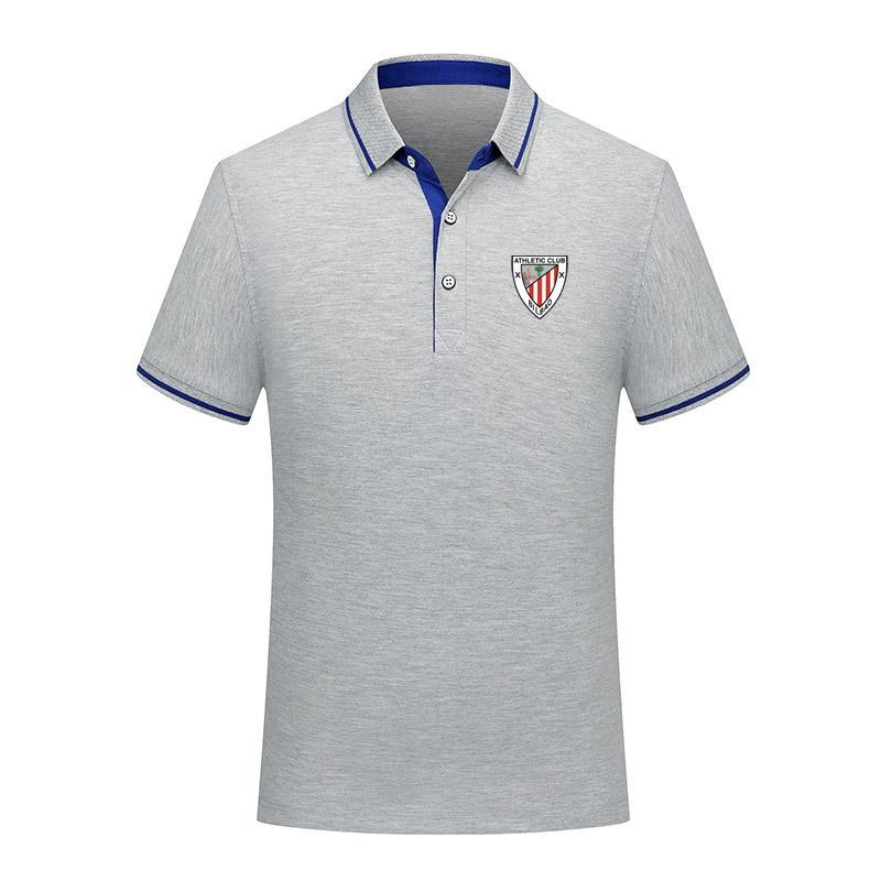 versión tailandesa de calidad Athletic Club manera del algodón del polo de verano de fútbol hombres de la camisa de manga corta camisa de los hombres jer entrenamiento de fútbol solapa polo polo