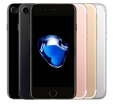 Remodelado desbloqueado o iPhone de Apple 7 4G LTE Quad Core 4.7 '' 12MP 2G RAM 32G / 128G ROM Fingerprint remodelado telefone