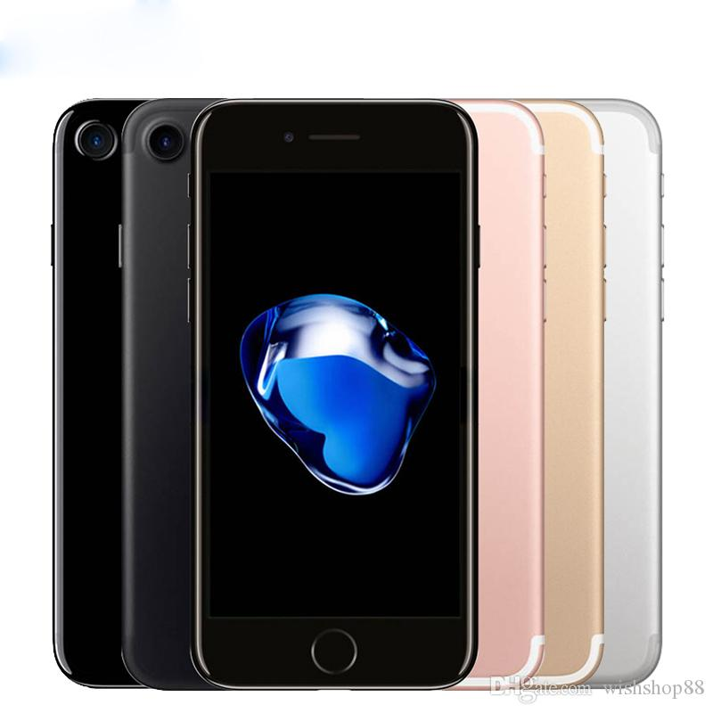 Unlocked Original Apple Iphone7 IPhone 7 Plus 3GB RAM 32/128GB/256GB ROM  Quad Core IOS LTE 12 0MP Camera IPhone7 Plus Fingerprint Phone Refurbished