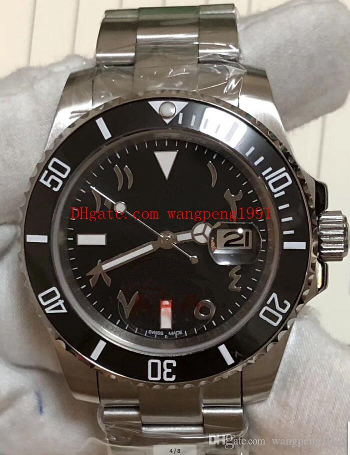 3 Stili Scatola originale di alta qualità orologio da 40 mm numeri arabi quadrante 116610 116610LN 116610LV 116619 116619LB orologi automatici orologio da mens