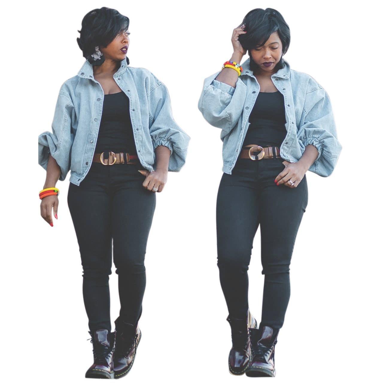 Giacca designer donne Moda Vintage manica lunga Jean Jacket Womens Abbigliamento casual