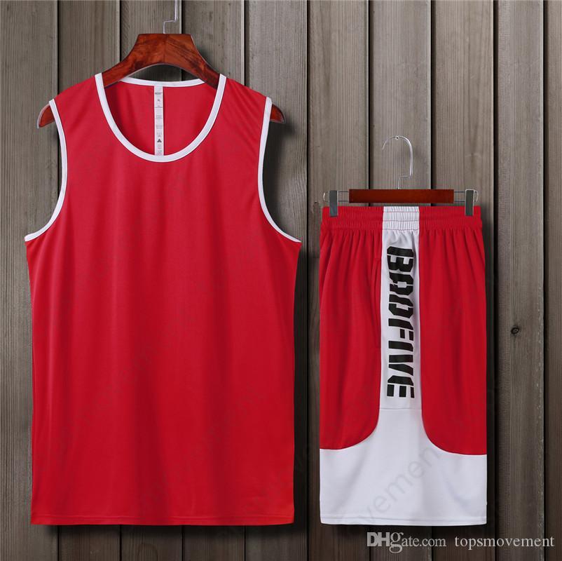 Use ropa al aire libre de baloncesto 2019 Últimas Hombres jerseys del baloncesto de la venta caliente de alta calidad de 95