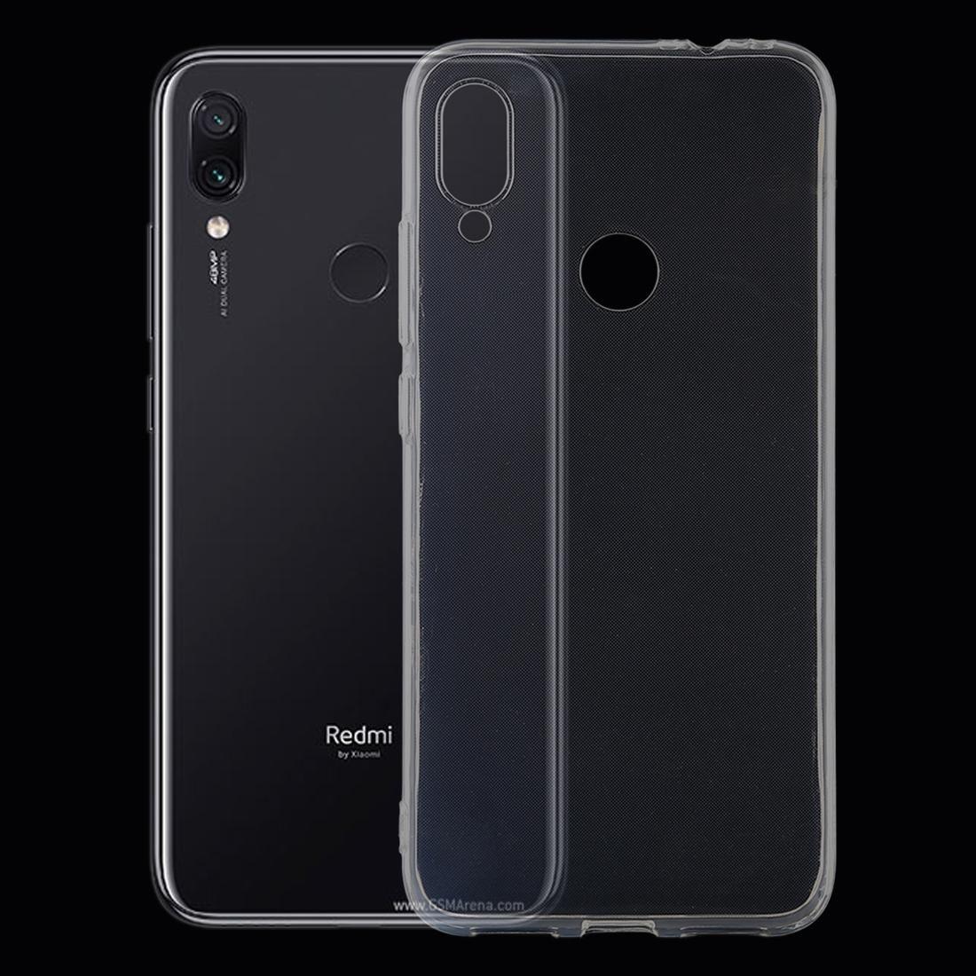 0,75 mm Ultrathin transparent TPU Housse de protection pour Xiaomi redmi Note 7