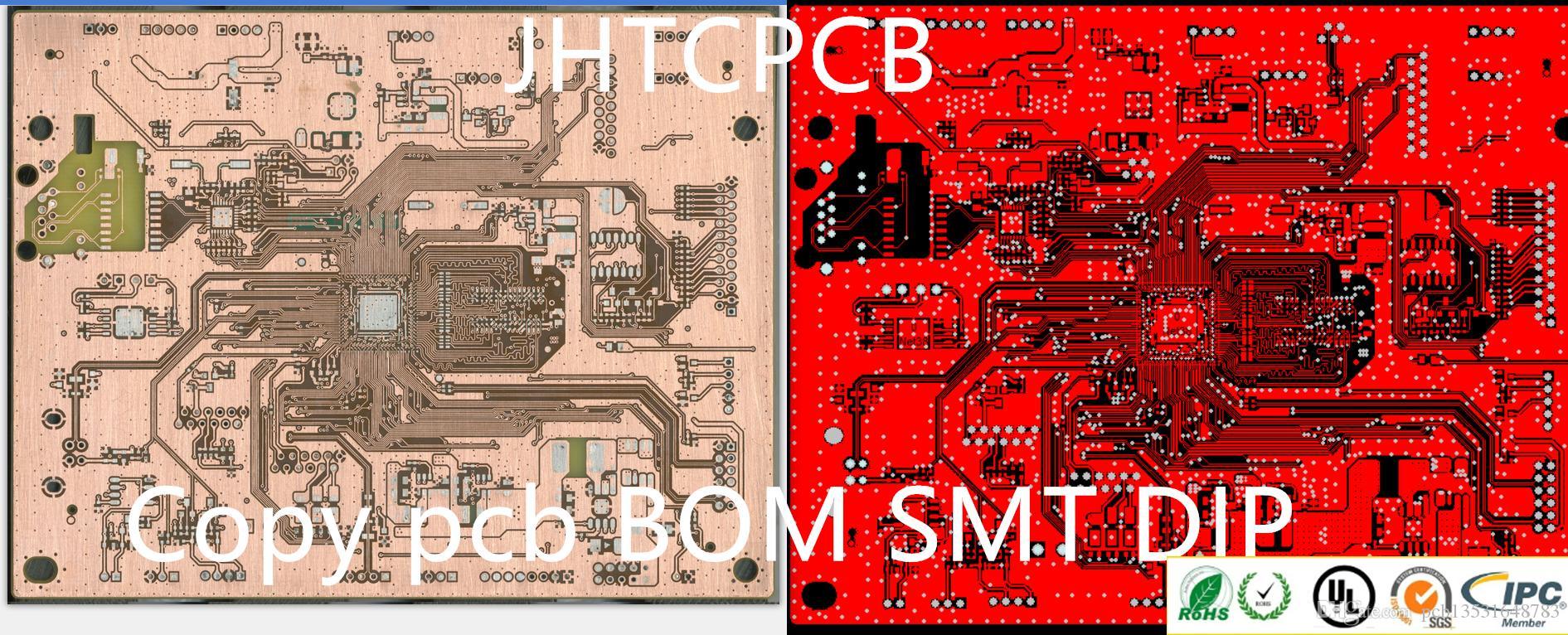 SMT لوحة الدوائر FR4 استنسل لوحة الدوائر المطبوعة PCB جمعيات استنسل شحن مجاني
