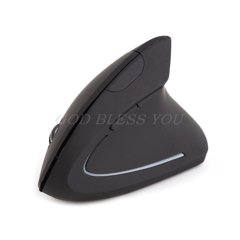 USB Vertical Mouse Ergonomic Optical Wrist Healing Comfort Mouse for Computer PC