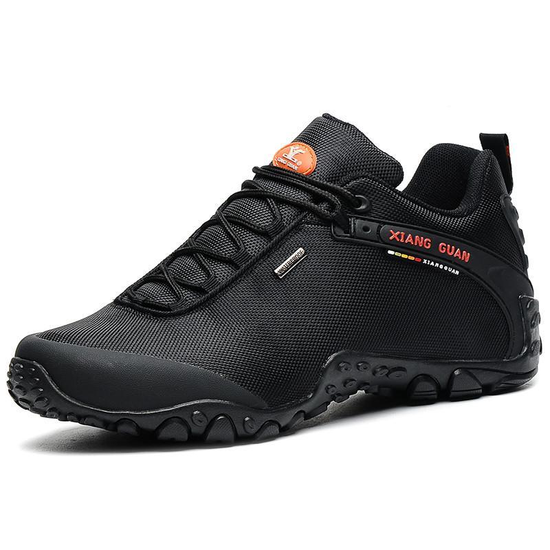 새로운 남성 하이킹은 미끄럼 방지 통기성 트레킹 산책 운동화 아웃 도어 등산 부츠 망 트레이너 무료 배송 신발