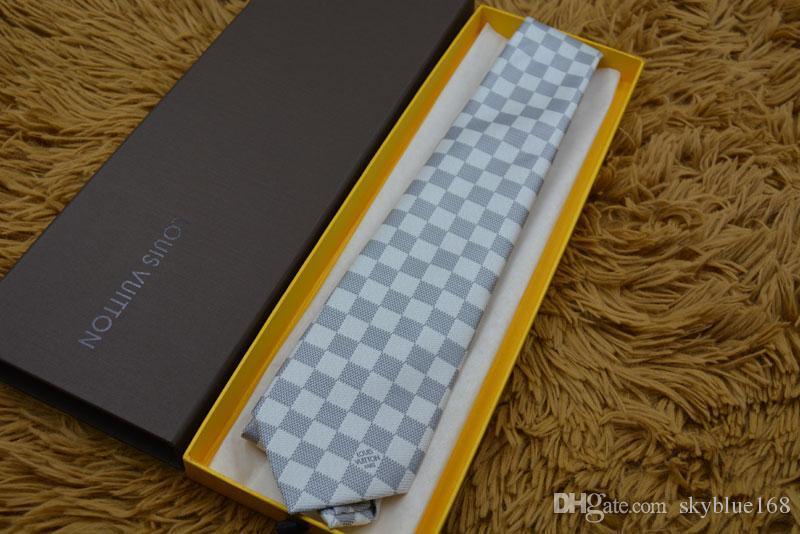 2019 Moda marca Masculino Gravatas 100% laço gravata de seda Jacquard clássico tecido artesanal de Homens para Homens Casual casamento e Empresariais Gravatas 901
