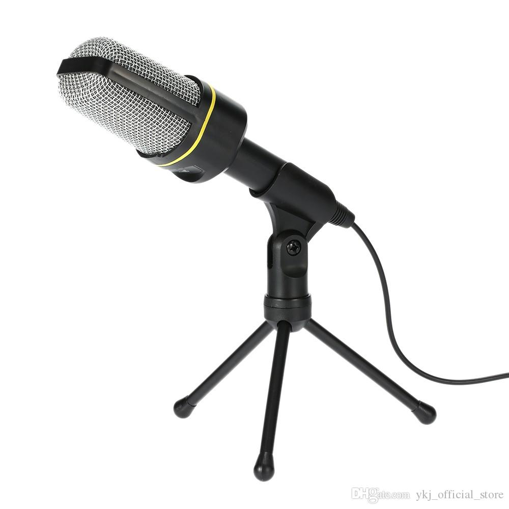 Professional USB Condenser Microphone Studio Sound Microphones Recording Tripod for KTV Karaoke Laptop PC Desktop Computer