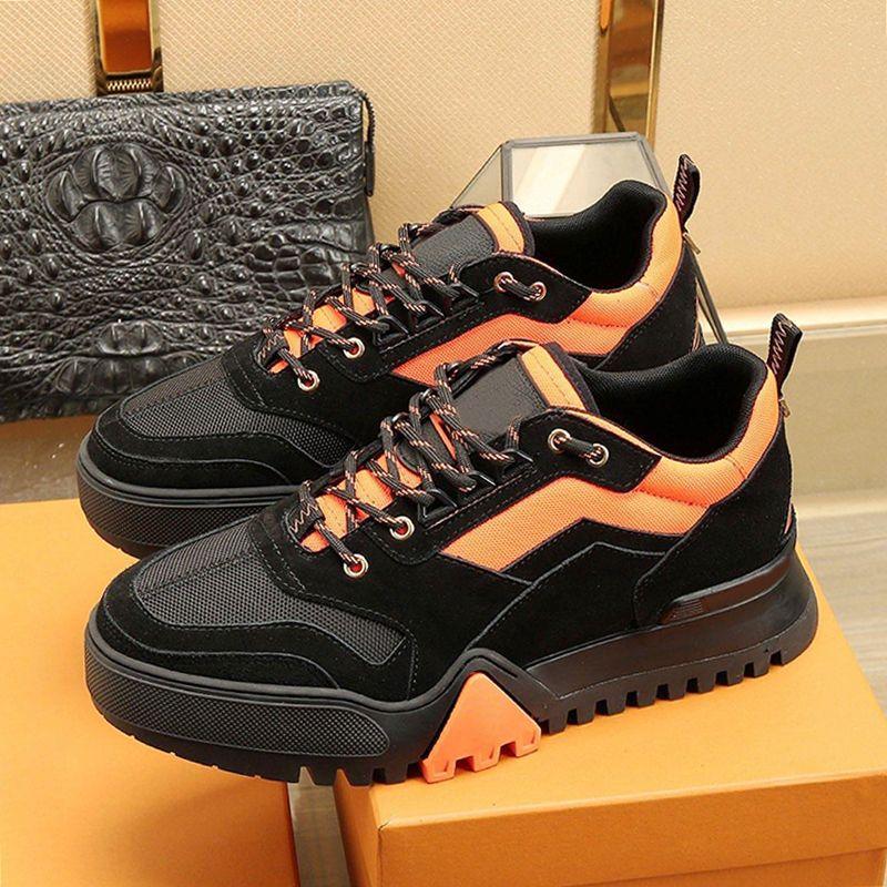 Louis Vuitton LV Wandern Sneaker Herrenschuhe Verkaufs-Qualitäts-Zapatillas Hombre atmungsaktive Schuhe Herbst und Winter Fußbekleidungen Lace-up Low Top Casual Men Schuhe