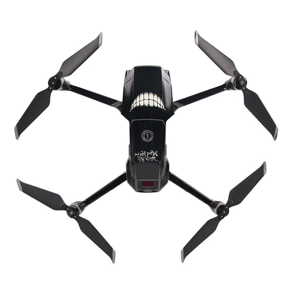 Sunnylife Autocollants PVC pour DJI 2 Pro Mavic / Zoom RC Drone - Crazy diable