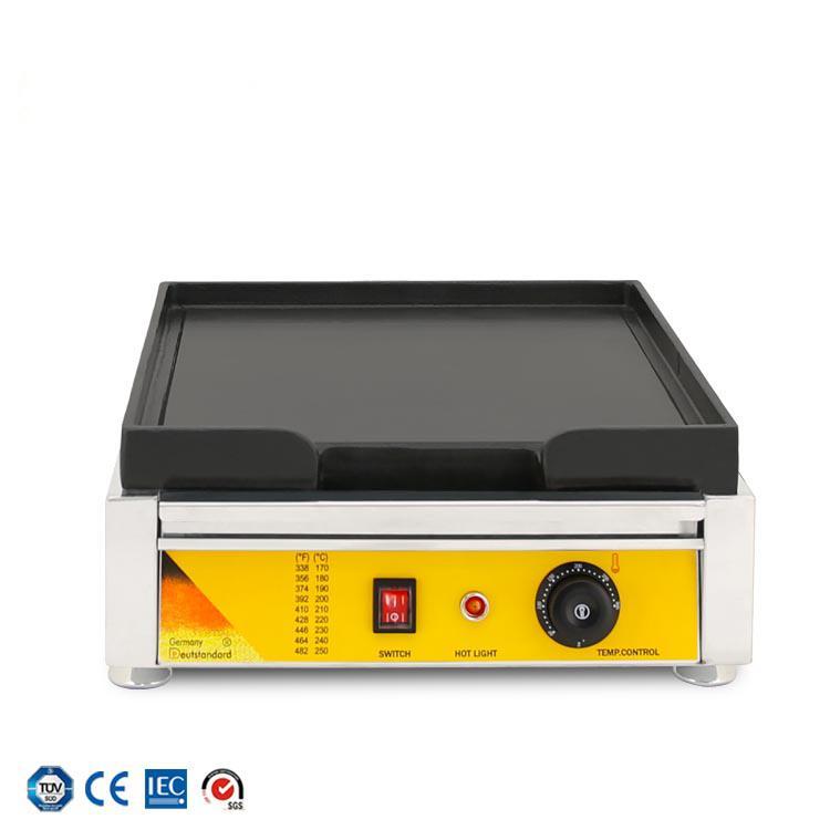 상업 굽고 기계 바베큐 플랫 팬 스테인레스 스틸 전기 철판 전기 오븐 보드 철판