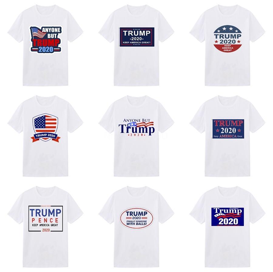 El nuevo diseñador padrino Trump Camisetas Hombre algodón de manga corta del O-Cuello de la mafia Impreso hombre Trump camiseta Moda masculina Dios Padre tes de las tapas # 9