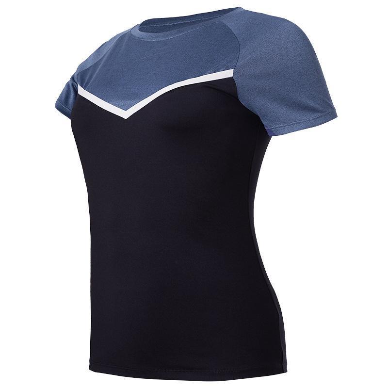 Women's Gym Yoga Shirts Tops Short Sleeve Fitness Running Training Clothing Quick Dry Summer Sports T-Shirts