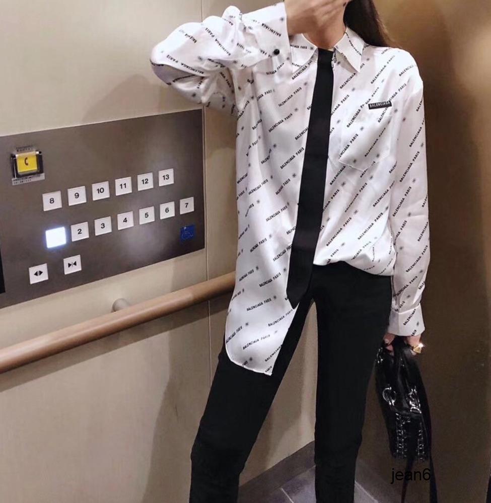 2020 мода личность досуг женская рубашка поддельный галстук супер возраст уменьшение Styleshirt женская супер нежная 040207