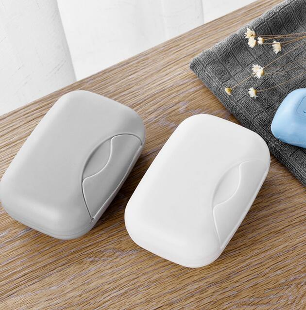 Bathroom Soap Dish Box Case Holder Portable Travel Shower Soap Container Outdoor
