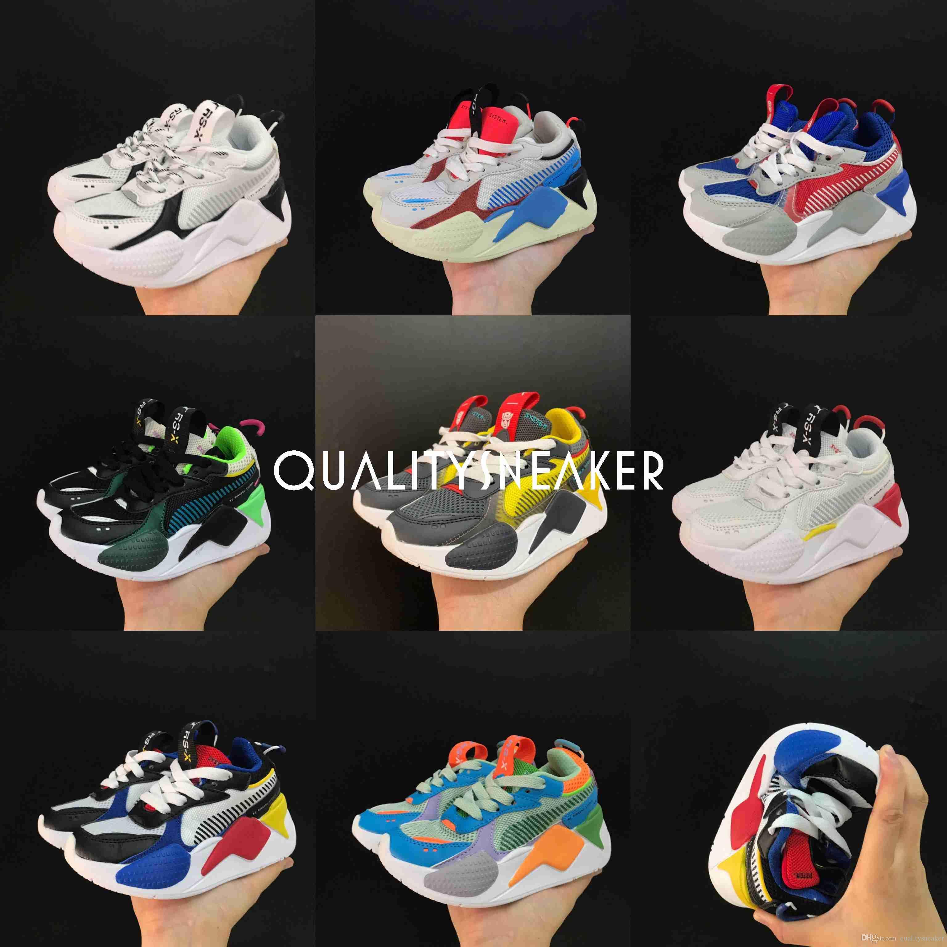 حار الكبير للأطفال RX-S لعب الاحذية الأطفال بوي بنات عارضة مصمم الاحذية الفاخرة أحذية كرة السلة احذية رياضية في الهواء الطلق طفل