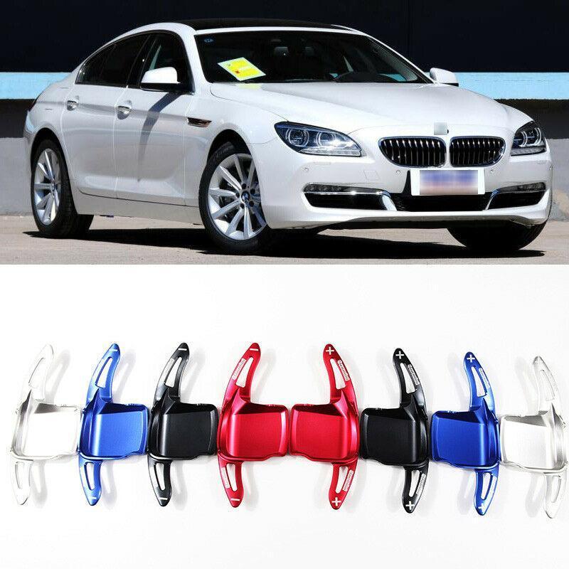 Para BMW 6 series de dirección de aluminio de la rueda de desplazamiento DSG 2pcs Paddle Shifter Extensión