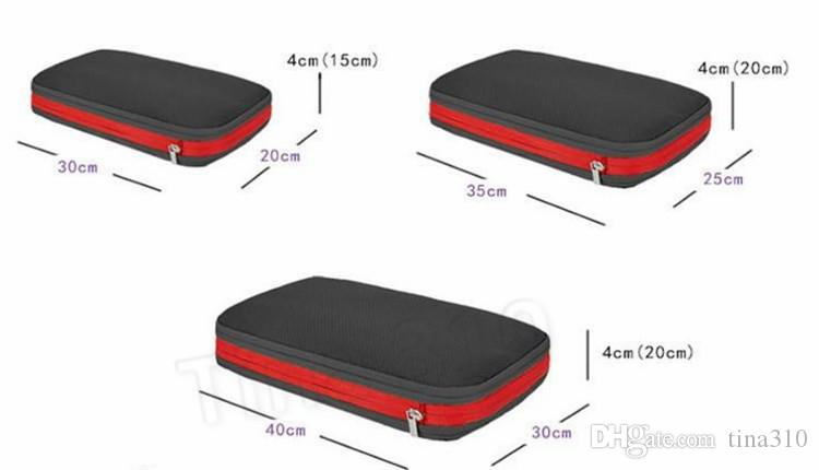 3Pcs Canvas Storage Luggage Bag Drawstring Organizer Travel Bags Pouch Mothproof