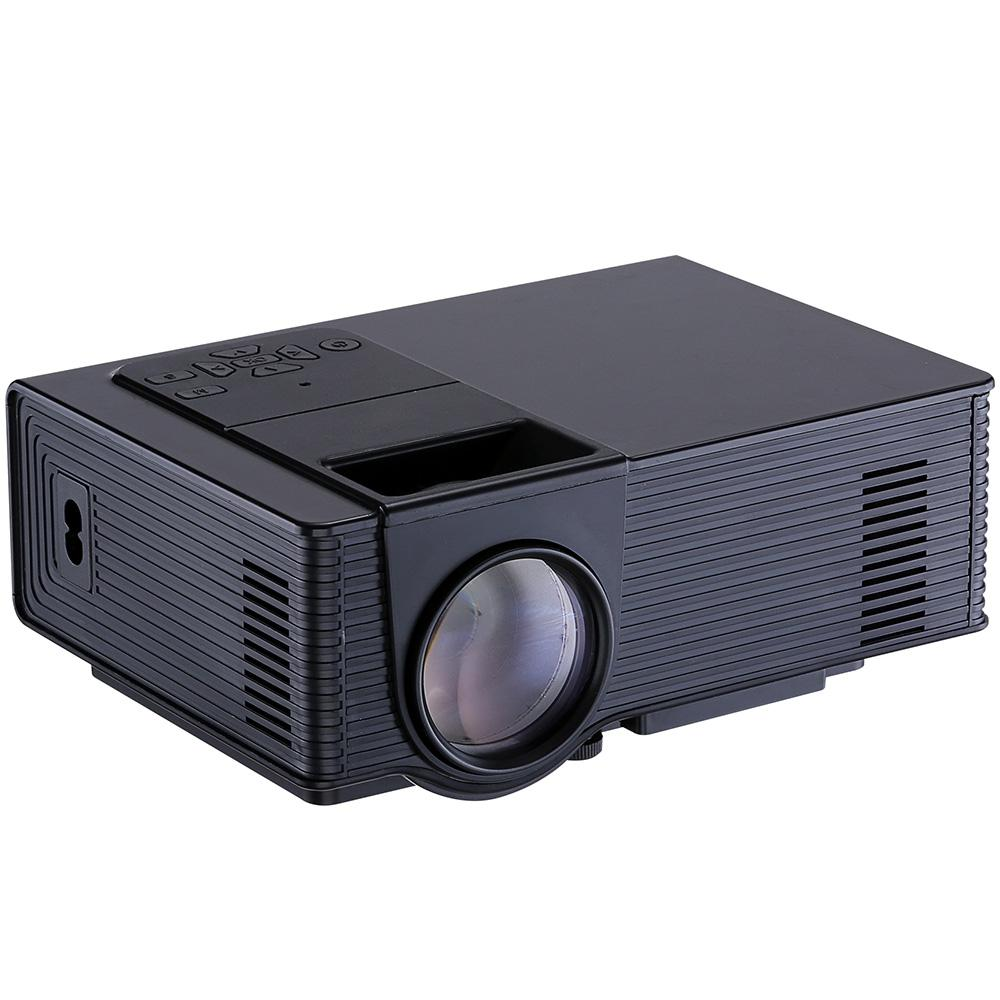 Projector 1500 Lumens 800 x 480 Pixels 1080P Media Player Home Theather LED Projector EU US Plug with Remote Control