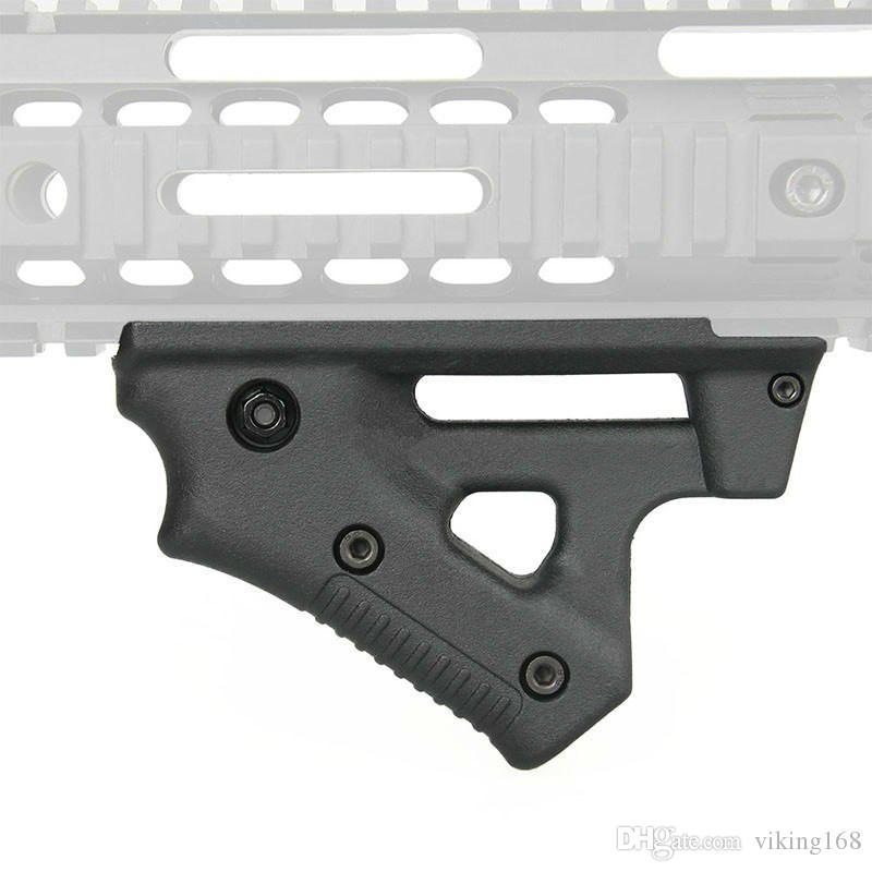 새로운 전술 Foregrip 스트라이커 그립 엄지 손가락 그립 CL19 삼각형 21mm 레일 마운트