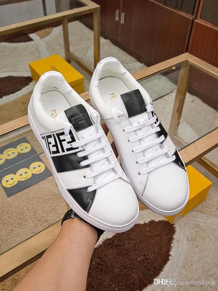 19FW 2020 Весна мужская мода кроссовки мужская холст обувь мужчины удобные мужские Повседневная обувь кружева Up бренды вождения обувь большой размер 38-45