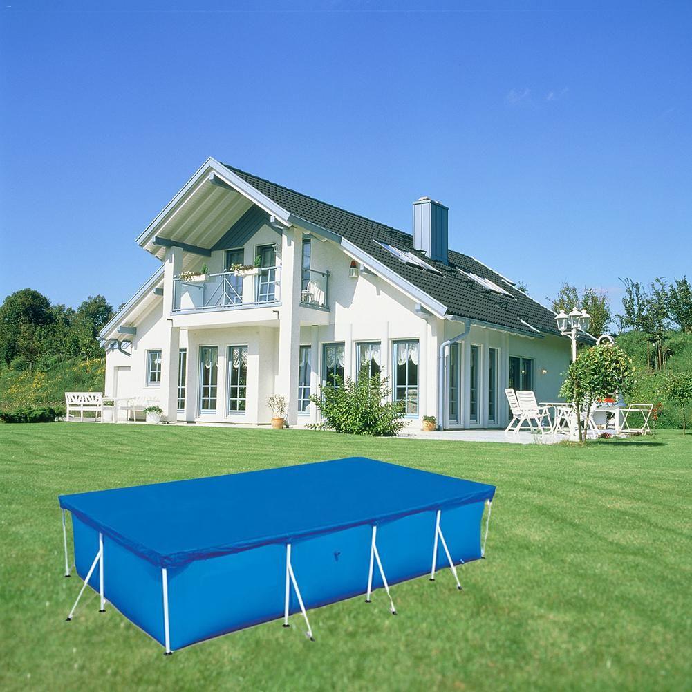 Piscina redonda de gran tamaño Paño de polvo de suelo cubierta de polvo de labio Piso de tela para villa Piscina Al aire libre Jardín Venta caliente