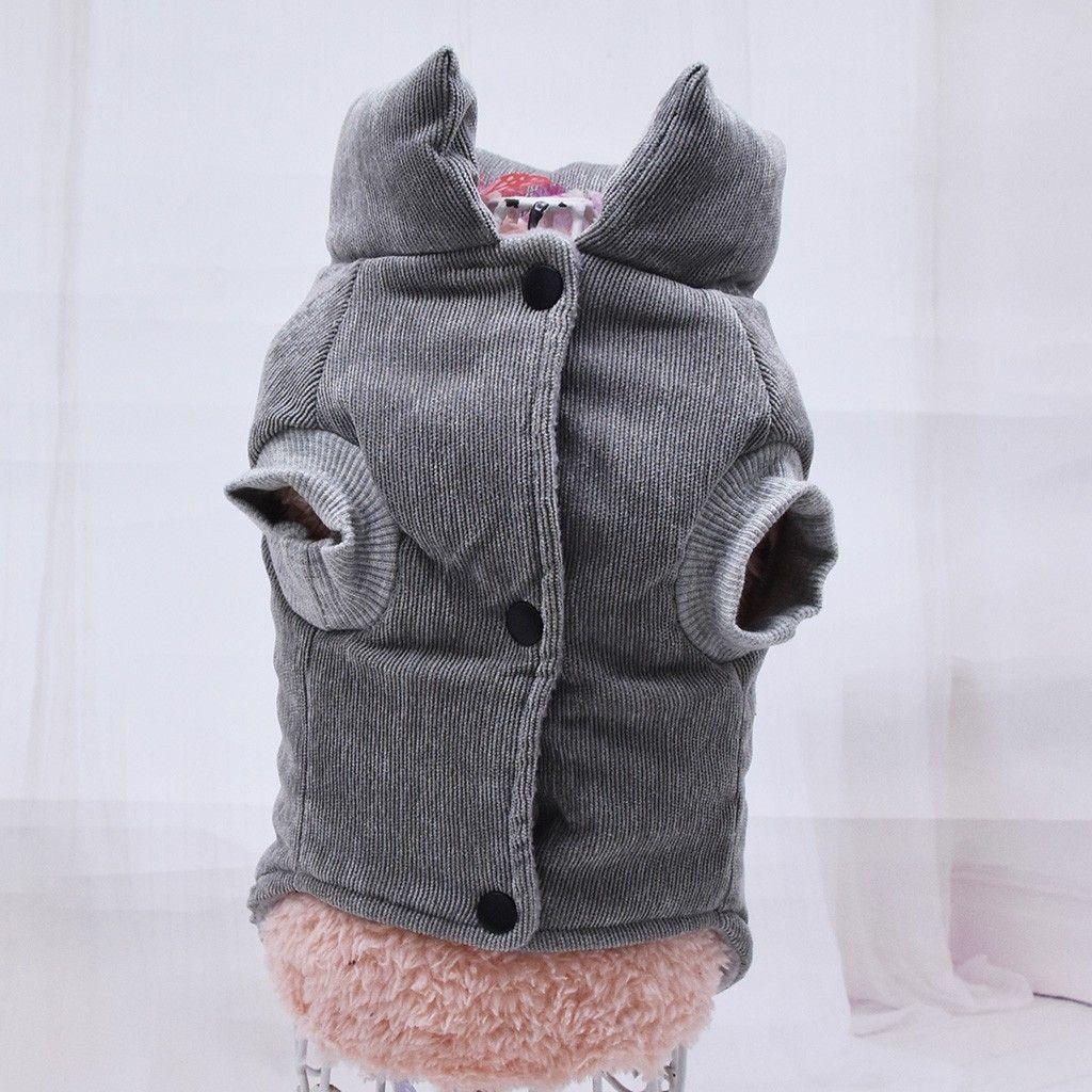 Pet Dog Shirt Geometry Print Puppy Coat Pets Cat Warm Clothes Coat Sweatshirt 9.9 Dog Apparel