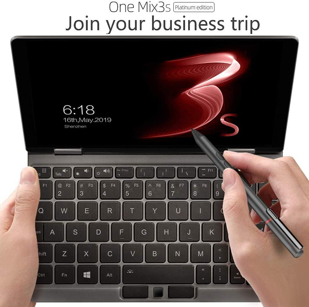 """One Netbook One Mix 3S Yoga CPU Intel 8th CoRE I7-10510Y 8.4"""" Mini Pocket Laptop Ultrabook UMPC Win 10 Home,2560X1600 Touch Screen Tablet PC"""