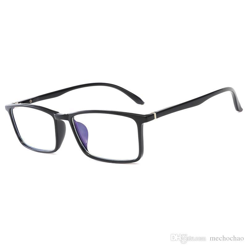 جديد الكمبيوتر الهاتف المحمول نظارات القراءة نظارات نظارات عدسة زجاجية شفافة للجنسين مكافحة الأزرق نظارات إطار نظارات نظارات الكمبيوتر أعلى جودة