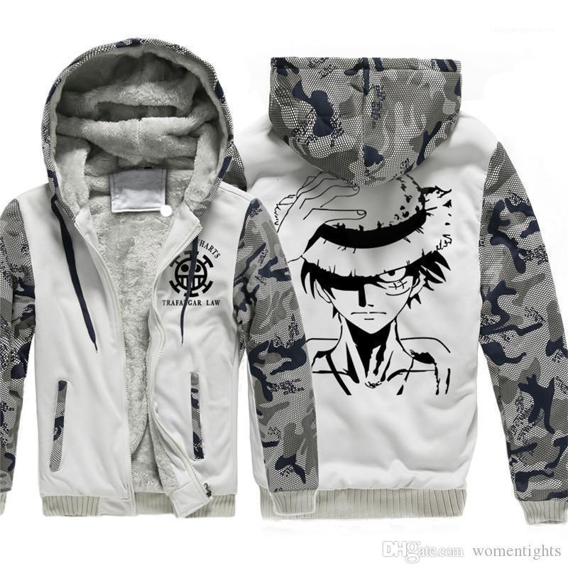 Solta fina Painéis camuflagem dos homens da luva Coats Casual Zipper machos roupa One Piece Mens Designer Casacos Moda