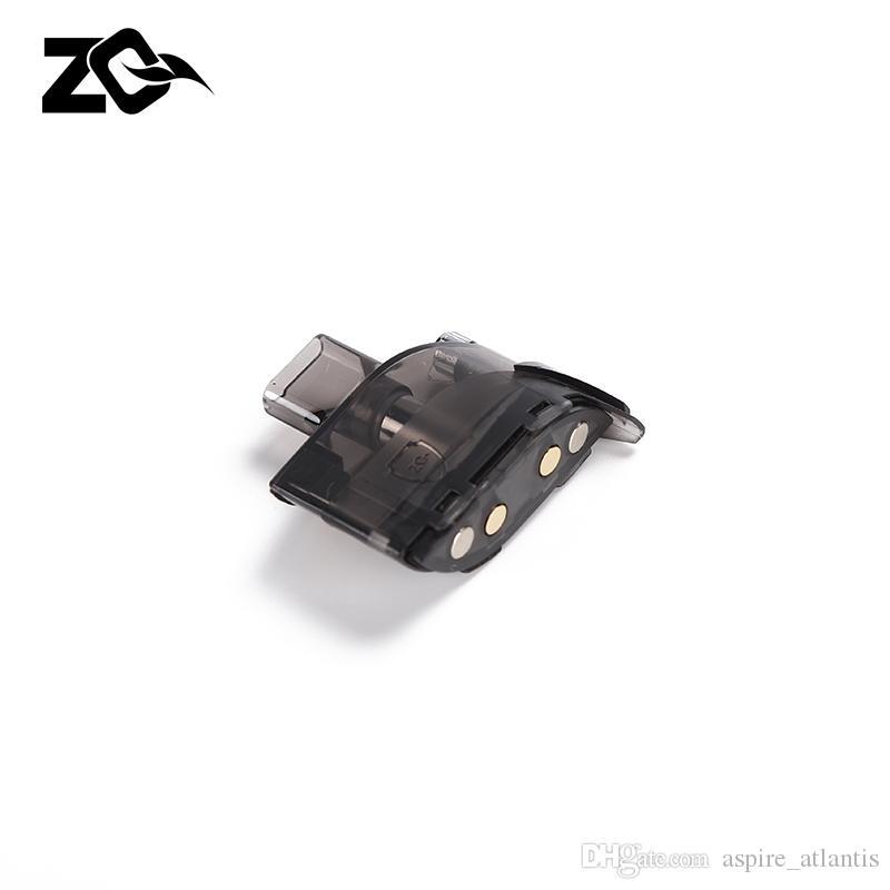 sistema pod criativo mostra novas ideias 1.0ohm bobina com 2 ml pod fluxo de ar ajustável chamado ZQ GO pod