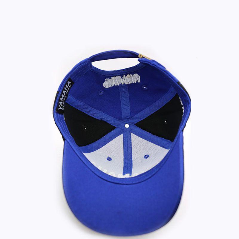 Fashion-2019 High Quality Moto Gp Motorcycle 3d Embroidered F1 Racing Women Snapback Caps Baseball Cap Yamaha Hats Y19070503