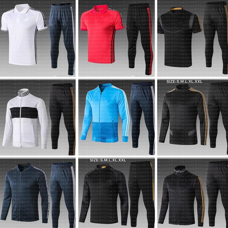 2019 2020 футбол Джерси Мадрид Всепогодного Обучение Куртки Обучение равномерного Jovic Бензем Rodrygo Пот футбольные рубашки