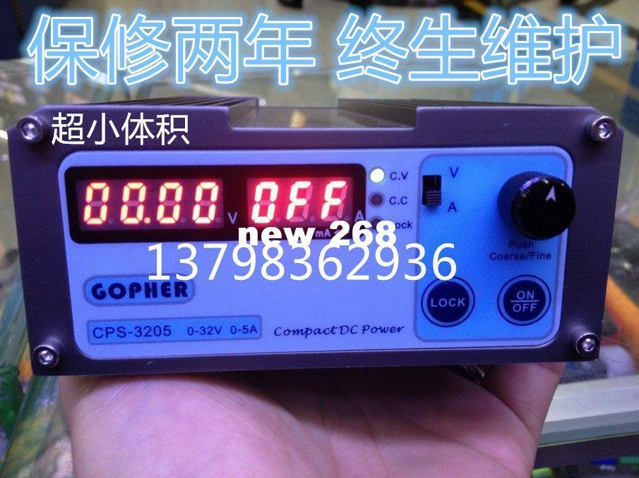 Freeshipping Precision Compact Digital Adjustable Mini DC Power Supply OVP/OCP/OTP 32V 5A MCU SMPS Switchable 220/110V better than APS3005D