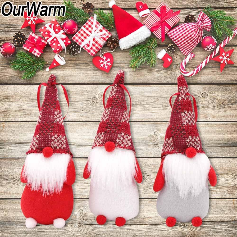 Ourwarm Gnome Santa Christmas Ornaments 18x7cm Fabric Gnome Christmas Tree Decorations New Years Toys Home Decoration Christmas Cheap Decorations Christmas Collectibles From Griffith 20 90 Dhgate Com
