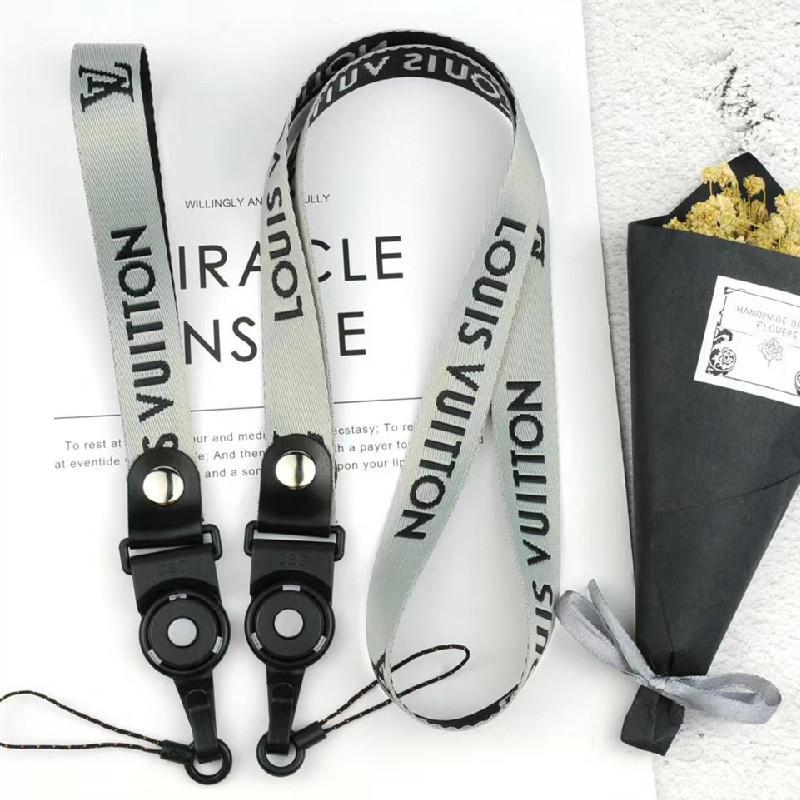 Bir Halat İpi Bilek Kayışı Uzun ve Kısa 1 set 2adet Seti Moda Telefonu sapanlar Anahtarlık Zincirler Boyun İpi Kimlik Kartı asın