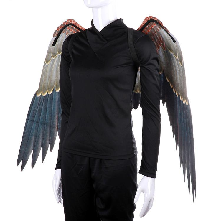 Mardi Gras Big Eagle Wings Costumes Non Woven Fabrics dark wings Adult Halloween decorations Fancy Dress Ball Costumes cosplayT2I5329