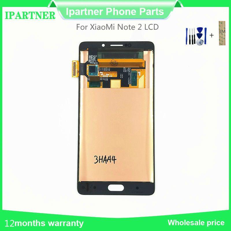 Araçları ile Xiaomi Not 2 LCD Yüksek Kalite için 5.7 İnç MI Not 2 LCD Ekran Dokunmatik Ekran Sayısallaştırıcı Meclisi Yedek Parçaları
